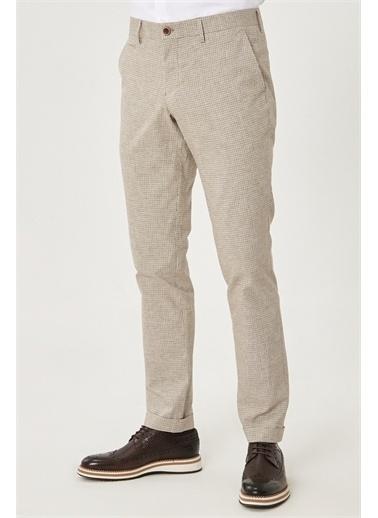 Altınyıldız Classics Slim Fit Dar Kesim Yan Cep Casual Pantolon 4A0121200028 Bej